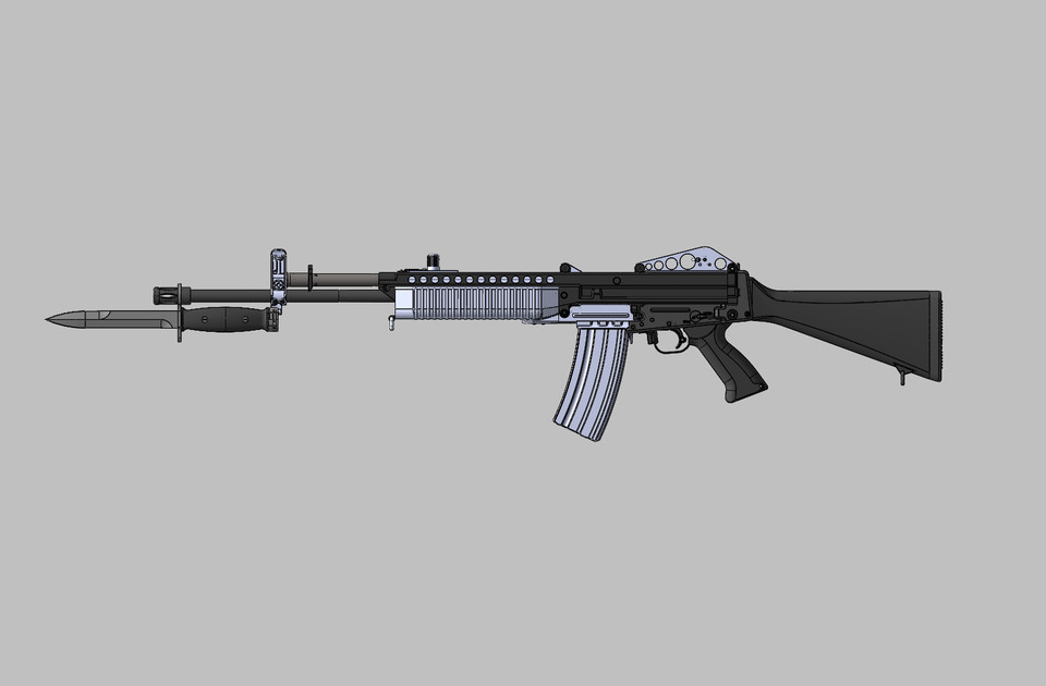 Stoner 63a accessories 3d cad model library grabcad altavistaventures Choice Image