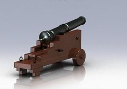 Artillery Gun - Field Artillery 1820s