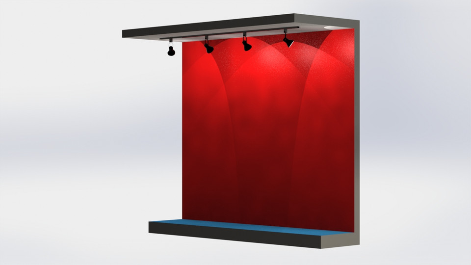 Track Lighting | 3D CAD Model Library | GrabCAD