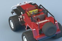 Jeep toy model