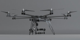 OCTOCOPTER WITH 3 AXIS CAMERA MOUNT