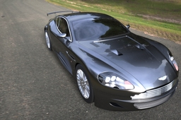 Aston Martin DB9 Coupe surface model