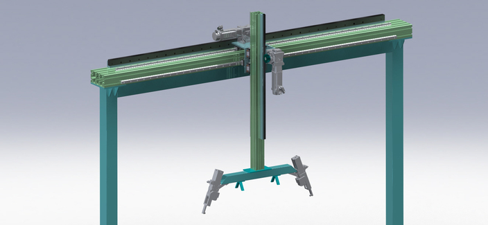 Two-axis Gantry