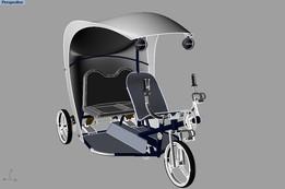 pedal 3 wheeler Track XI