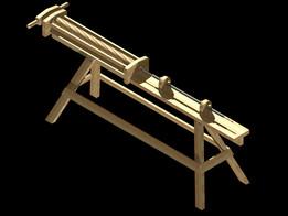 Rifling Bench Antique European / American