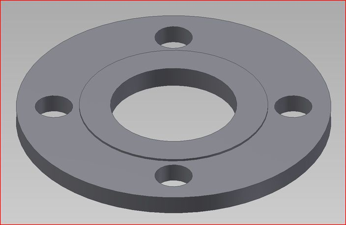 Table e pipe flange 3d cad model grabcad for Table e flange