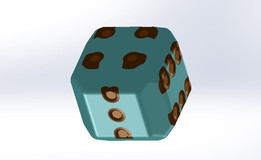 rendered dice