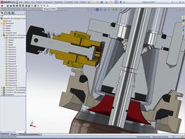 Only cutting off central parts & adding one part - diffusor like umbrella...