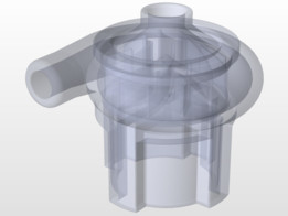 Water pump for table fountain