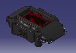 Brake Caliper AP CP6600 incl Pads