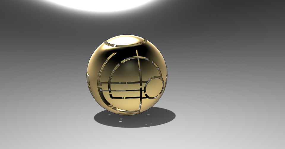 online retailer c4fba ddd26 Apple of Eden Lamp | 3D CAD Model Library | GrabCAD