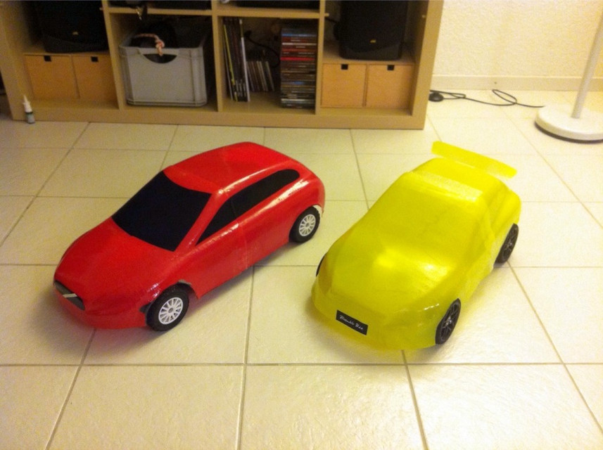c30 car body for 3d printed rc car chassis | 3D CAD Model Library