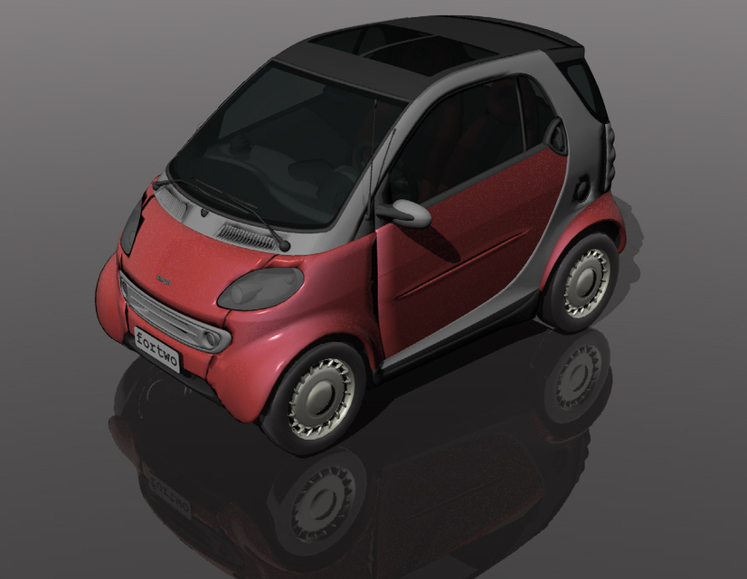 Smart fortwo 3d cad model library grabcad load in 3d viewer uploaded by 3d cnc malvernweather Image collections