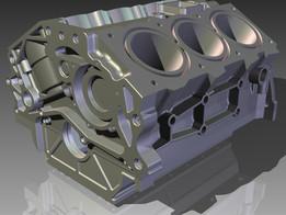 VQ35DE Crankshaft Casing