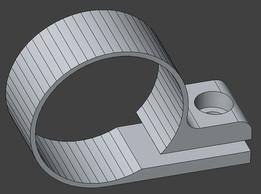 31.8 bicycle headlamp clamp