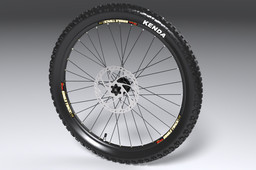 Motopedal Front Wheel