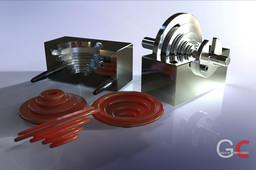 Compression mold tool NBR01