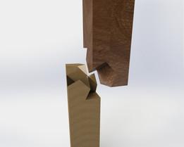 Kawai Tsugite measure