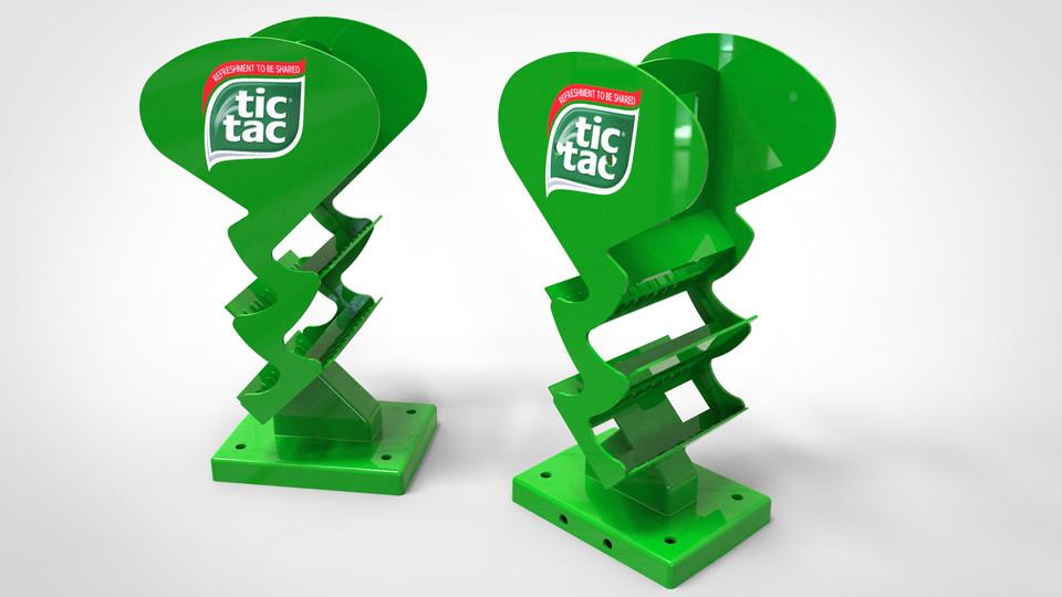 Tic-Tac Stand | 3D CAD Model Library | GrabCAD