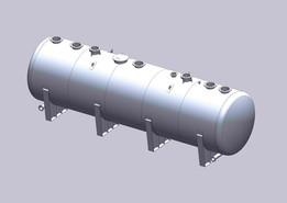 Oil separator (code of construction  ASME VIII)