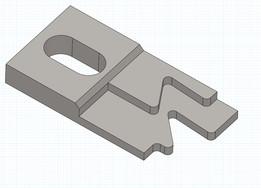Backgauge clamp Amada Style