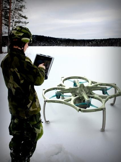 UAV QuadCOPTER Drone CT