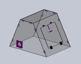3D printer case - Prusa I3