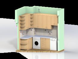 Kitchen wardrobe (Кухонная стенка)