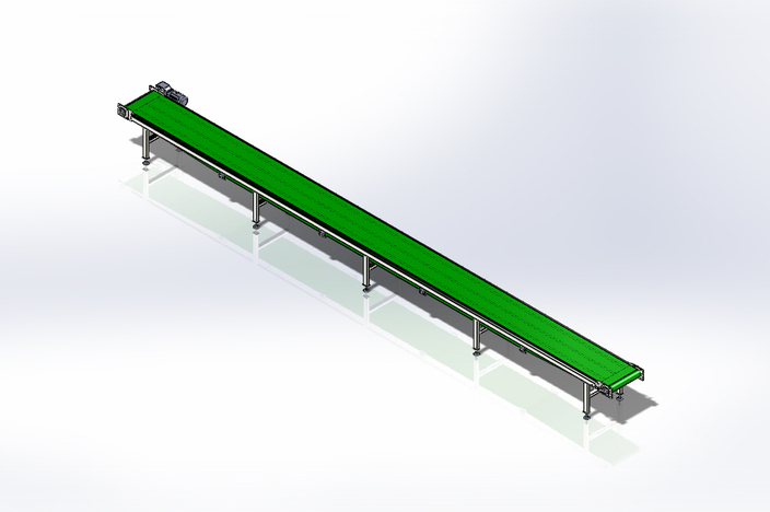 how to create belt in solidworks