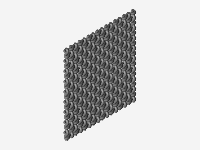 Stainless steel wire mesh | 3D CAD Model Library | GrabCAD
