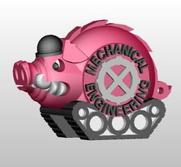 University of Arkansas, Mechanical Engineering Mascot: Mechanical Hog