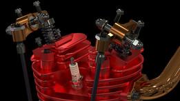 Karl-Erik Olsryd 9-Cylinder Radial Wright J-5 Whirlwind