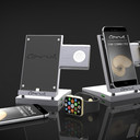 Carus iPhone and watch dock