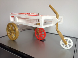 Printed self-propelling cart