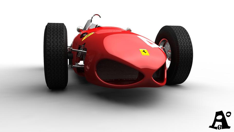 Ferrari 156 F1 Sharknose 3d Cad Model Library Grabcad