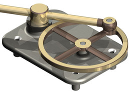 Plane Crank Slide with Pendulum
