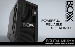Brutal Minima BOXX workstation