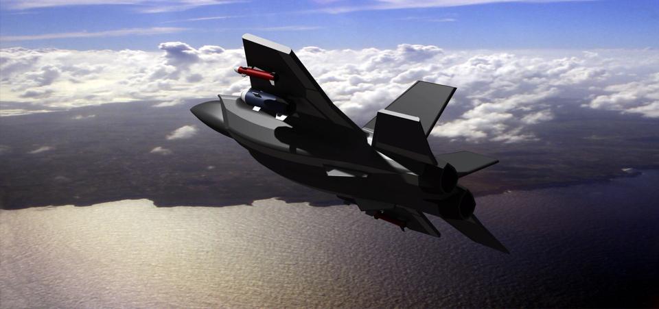 Fighter plane | 3D CAD Model Library | GrabCAD