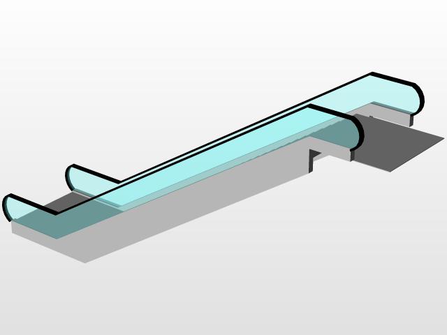 Escalator | 3D CAD Model Library | GrabCAD