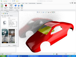 Free style-surface modelling-car