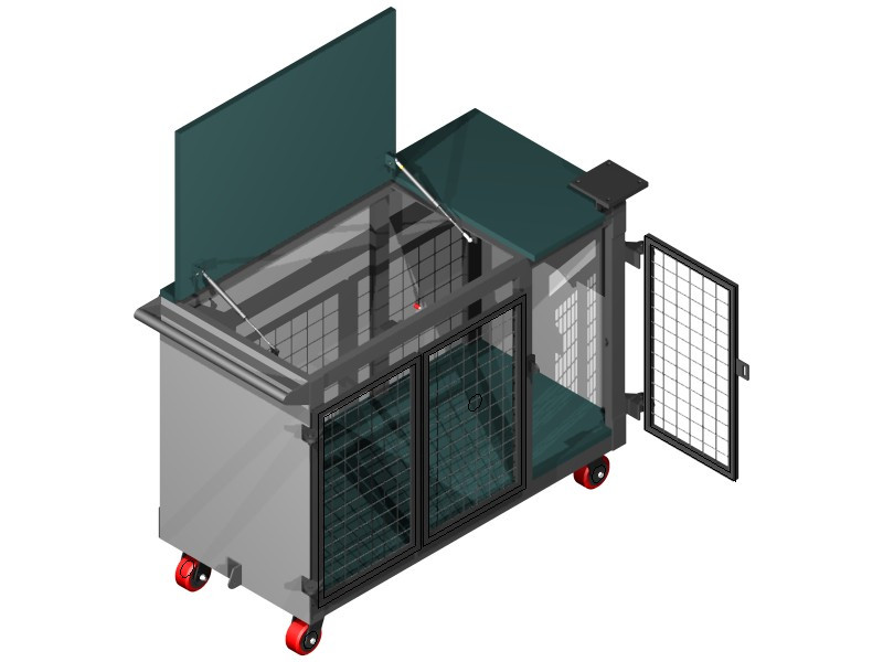 Mobile Workbench | 3D CAD Model Library | GrabCAD