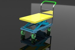 Dandy lift cart Scissor hydraulic