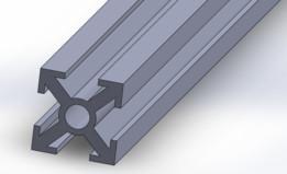 Perfil Alumínio Estrutural