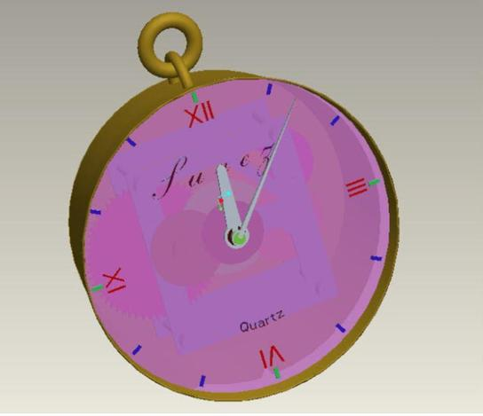 clock simulation-pre mature school level
