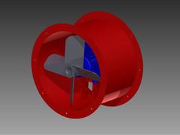 axial fan dia 400 mm