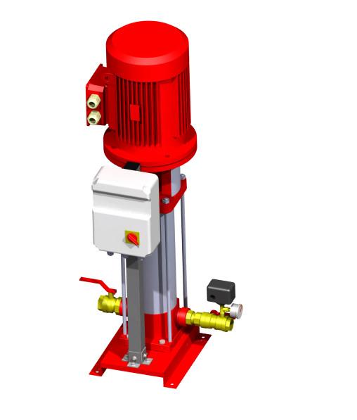 Firefighting Jockey Pump | 3D CAD Model Library | GrabCAD