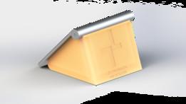 Ergonomic Magic Trackpad Stand Version 1
