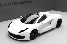 S.Automotive concept car spider