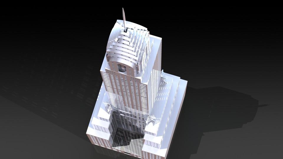 The Chrysler Building, Sheetmetal puzzle, 3d puzzle, 3d