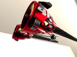 POD racer RED